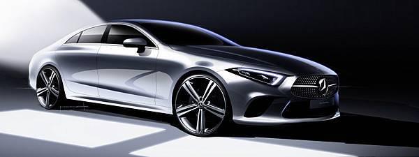 The new CLS 四門轎跑 突破車壇雙門跑車的框架,革新車壇視野,成為Mercedes-Benz創新的最佳體現.jpg