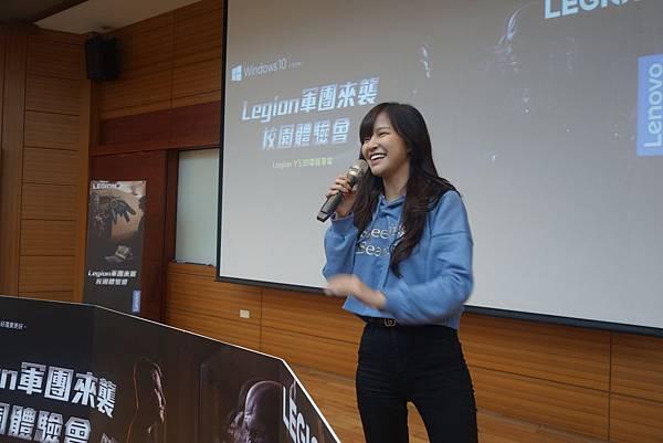 Legion校園體驗會特別邀請到知名電玩實況主小雲寶寶出席與同學PK拆裝機競賽、電競知識王挑戰.jpg