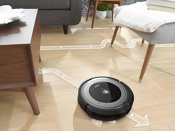 地板『表層』清潔專家:iRobot Roomba 690智能款掃地機器人.jpg