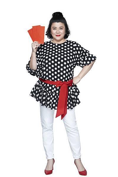 圖:RE紅包APP特別重金禮聘邀請林美秀以「RE阿姨」之姿擔任代言人,並親自獻聲配唱年度廣告曲,可望再帶動一波下載人潮!【RE紅包提供】.jpg