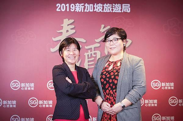 左起:新加坡旅遊局大中華區署長-柯淑丹與香港澳門台灣區處長-林曉芬-1.jpg