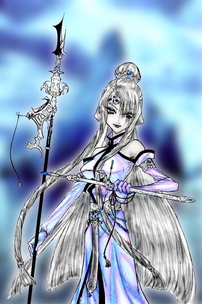白銀的女王