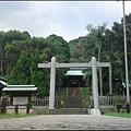 桃園縣忠烈祠(原桃園神社) - 攝於入口參道