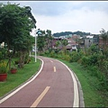 綠意盎然的南崁溪自行車道(龜山)