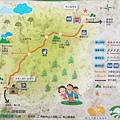 中和南山福德宮登山步道導覽地圖