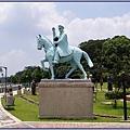 慈湖紀念雕塑公園 - 蔣公騎馬雕像