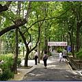慈湖遊客中心旁,通往慈湖陵寢的後慈湖秘境步道