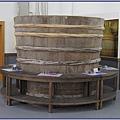 KIMLAN 金蘭醬油博物館 - 醃漬醬菜用的大木桶:好運的醬菜阿伯桶