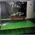 大溪後慈湖導覽行程 - 四號辦公室的鯉魚投影區