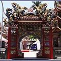 桃園市景福宮(桃園大廟)- 靠近金爐的西門「延爽門」