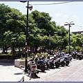 桃園市文昌公園旁的小巷道(可停放摩托車)