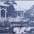 一張1970年的泛黃老照片 - 遊人如織的桃園文昌公園