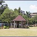 桃園市文昌公園 - 古樸的木造涼亭