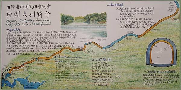 台灣省桃園農田水利會 - 桃園大圳簡介&導覽地圖