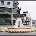 桃園市陽明社區地標 - 經國先生銅像