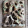桃園慈護宮 -《三川殿》步口廊兩側的龍門堵
