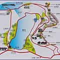 桃園龍潭石門水庫風景區 - 遊憩導覽地圖