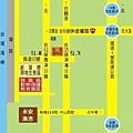 桃園縣動物保護教育園區(新屋收容所)位置圖