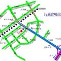 新竹市保護動物協會固定認養會 ( 孔廟前廣場) 會場地圖