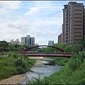 蘆竹吉祥河濱公園 - 橫跨大坑溪的大坑溪步橋