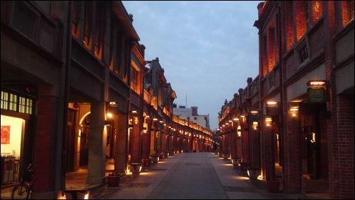 三峽老街的浪漫夜景-2