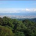 觀音山的雲海山景-2 (攝於遊客中心旁)