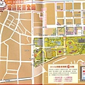 2011年苗栗台灣燈會的會場平面圖