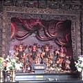觀音山 - 主祀北極玄天上帝的九龍順天宮 (正殿的神龕)