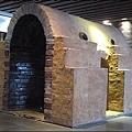 鶯歌陶瓷博物館 - 一樓大廳內的大型陶窯