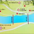 清泉部落遊憩導覽圖