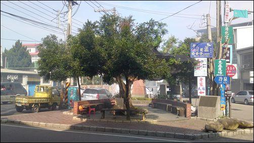 新竹北埔老街 - 三角公園(鄰近北埔國小)