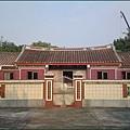 鄰近新竹湖口老街的戴拾和祖堂 (不開放入內參觀)