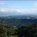 觀音山的雲海山景-3 (攝於遊客中心旁)