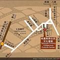 大溪桃園縣原住民文化會館的導覽地圖
