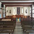 充滿原住民色彩的清泉天主教聖十字教堂 (清泉天主堂) 禮拜堂