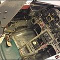 中正航空科學館 - 零零落落的戰機駕駛艙