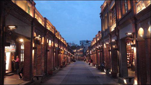 三峽老街的浪漫夜景-3