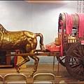 土城牛軋糖博物館 - 馬到功成的銅馬&古早馬車