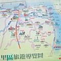新北市八里區旅遊導覽地圖