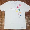 台灣導盲犬協會-2010年『愛的彩印』愛心義賣T恤