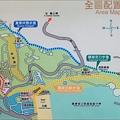 虎頭山環保公園的全區導覽地圖