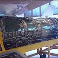 """飛機的渦輪噴射引擎實體 - 勞斯萊斯 """"艾文"""" RA29 533R"""