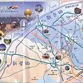 桃園縣觀音鄉&新屋鄉的旅遊導覽地圖