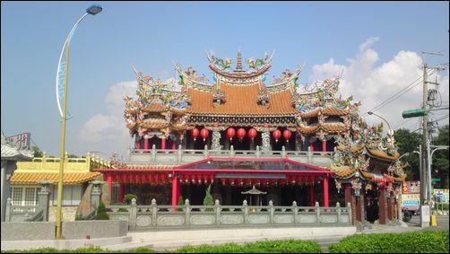 桃園大溪-武嶺橋頭的月眉山觀音寺