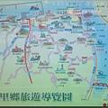 台北縣八里鄉旅遊導覽地圖