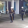 兩蔣園區 - 大溪陵寢(頭寮行館)的憲兵交接儀式
