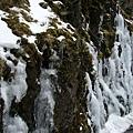 冰柱和積雪