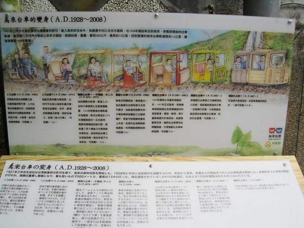 烏來台車的歷史