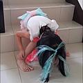 妹霓的萬聖節裝扮DIY 15.jpg