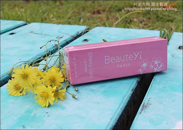 樸媞怡 BeauteYi 粉櫻唇霜 05.JPG